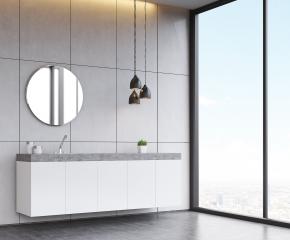 אומנות העיצוב בארונות אמבטיה