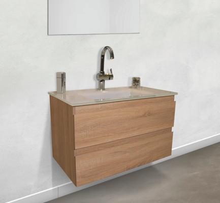ארון אמבטיה דגם בולוניה 80