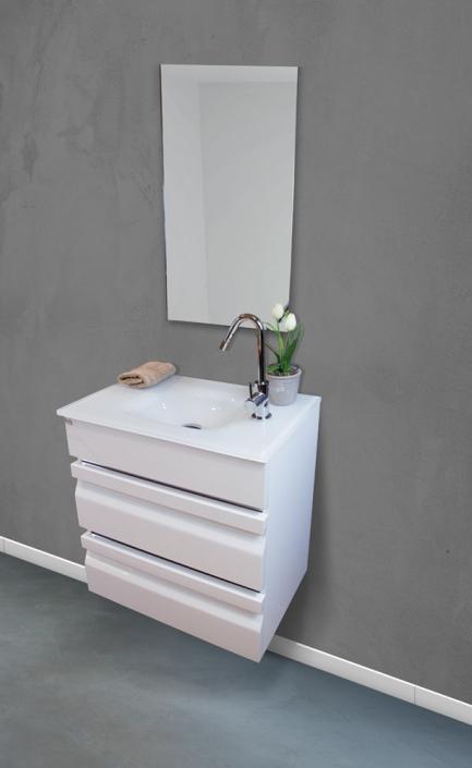 ארון אמבטיה דגם מיני לוגנו 60