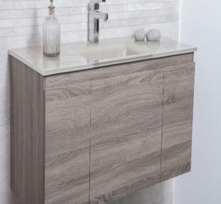 ארון אמבטיה דגם בולוניה אגוז