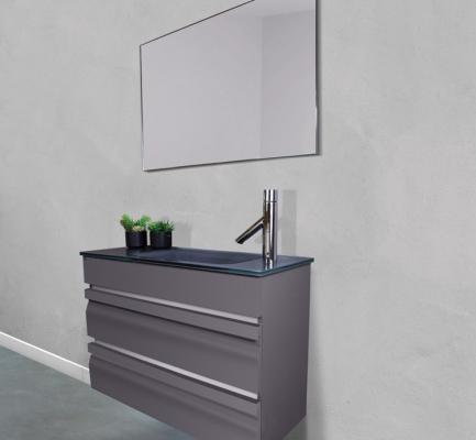 ארון אמבטיה דגם מיני לוגנו 90