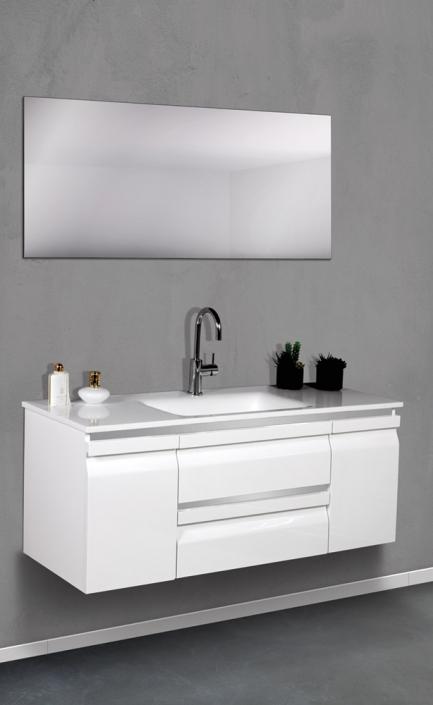 ארון אמבטיה דגם לוגנו 120